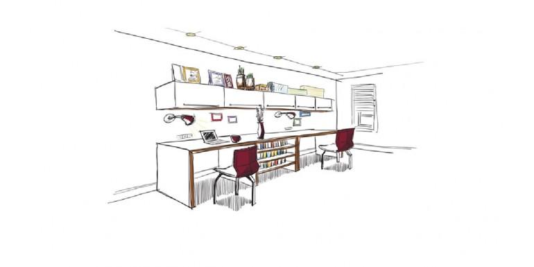 Plan the arrangement of furniture