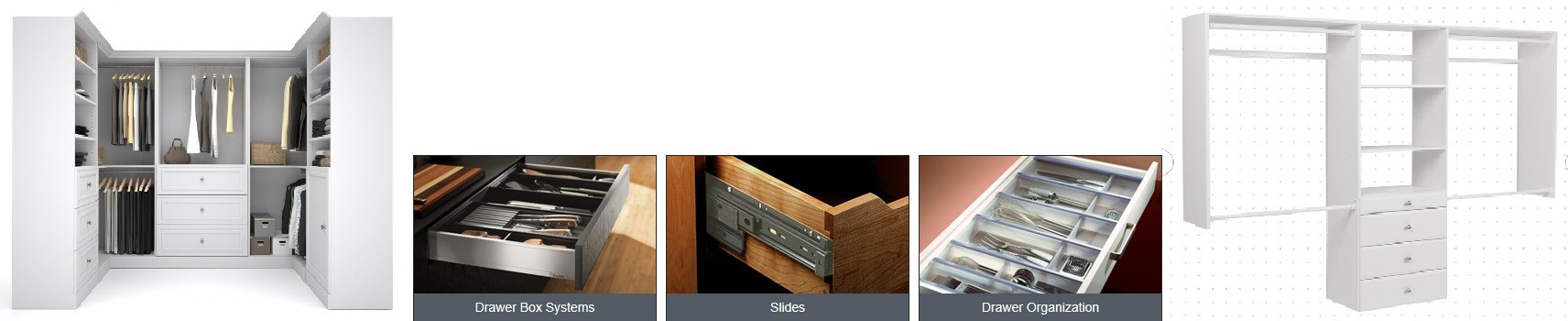 Custom Closet Organizer Wardrobe in Canada | Furnitureandpatio